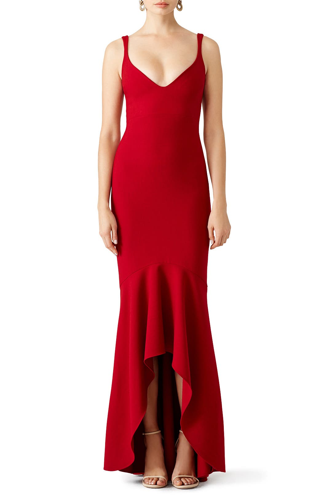 Red Sade Gown By Cinq 224 Sept For 110 125 Rent The Runway