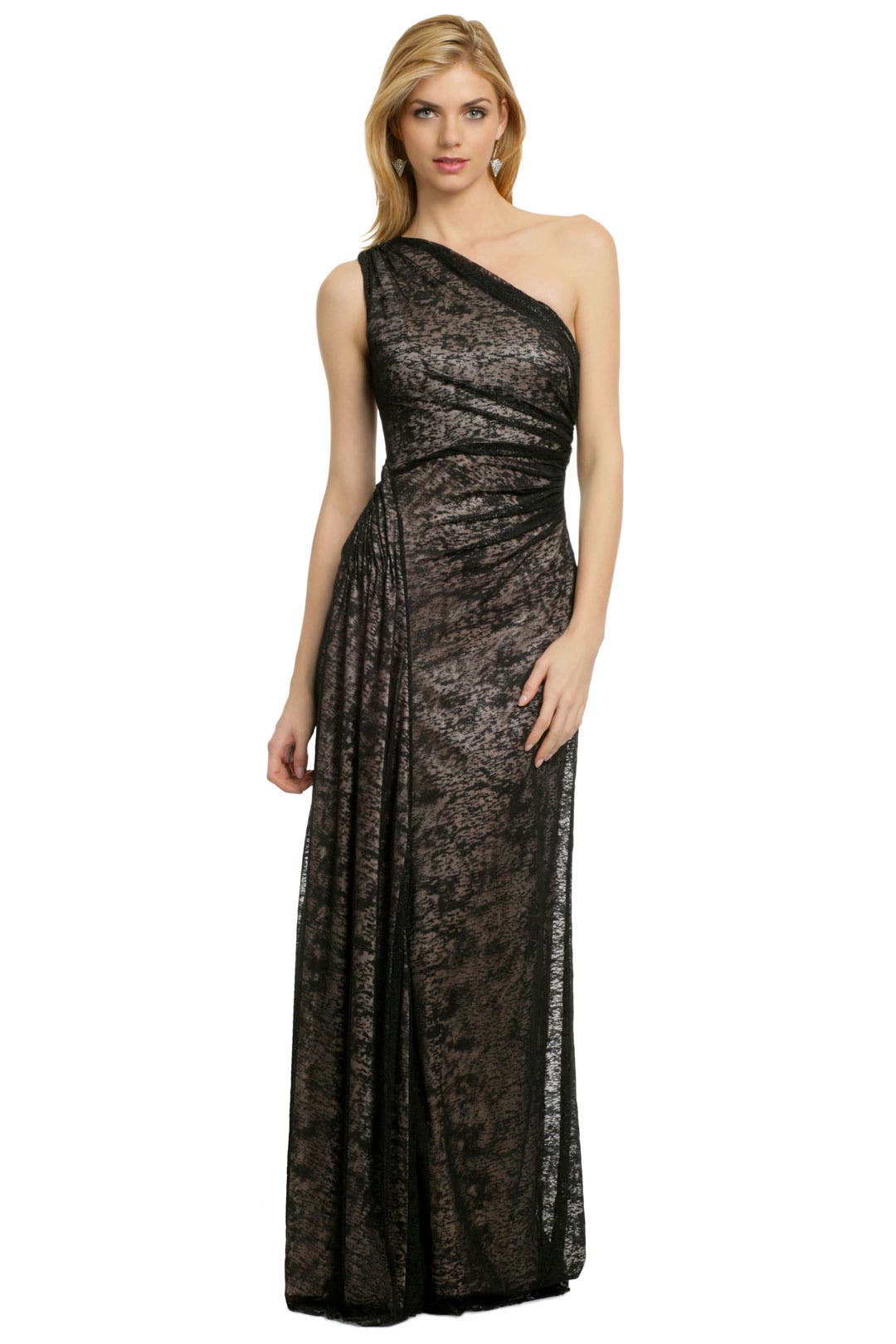 Night in Barcelona Gown by David Meister