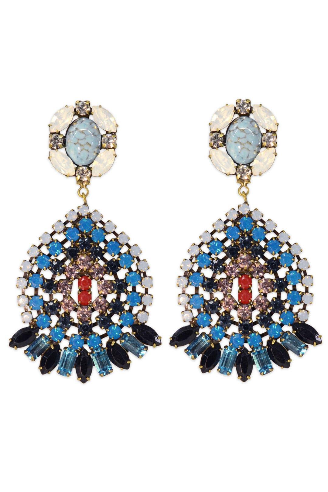 Siobhan Earrings by Dannijo