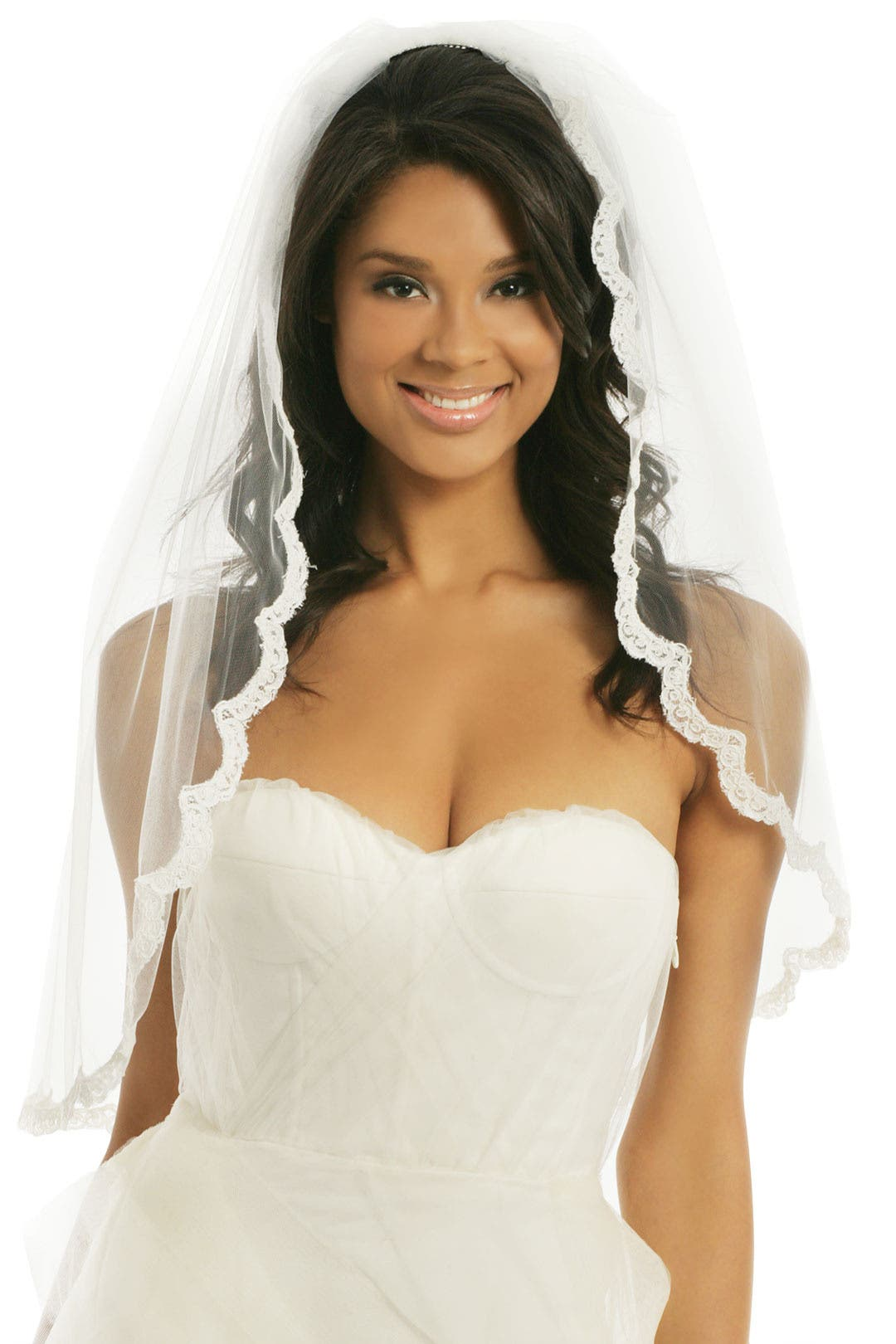 Gossamer Lace Veil by RTR Bridal Accessories