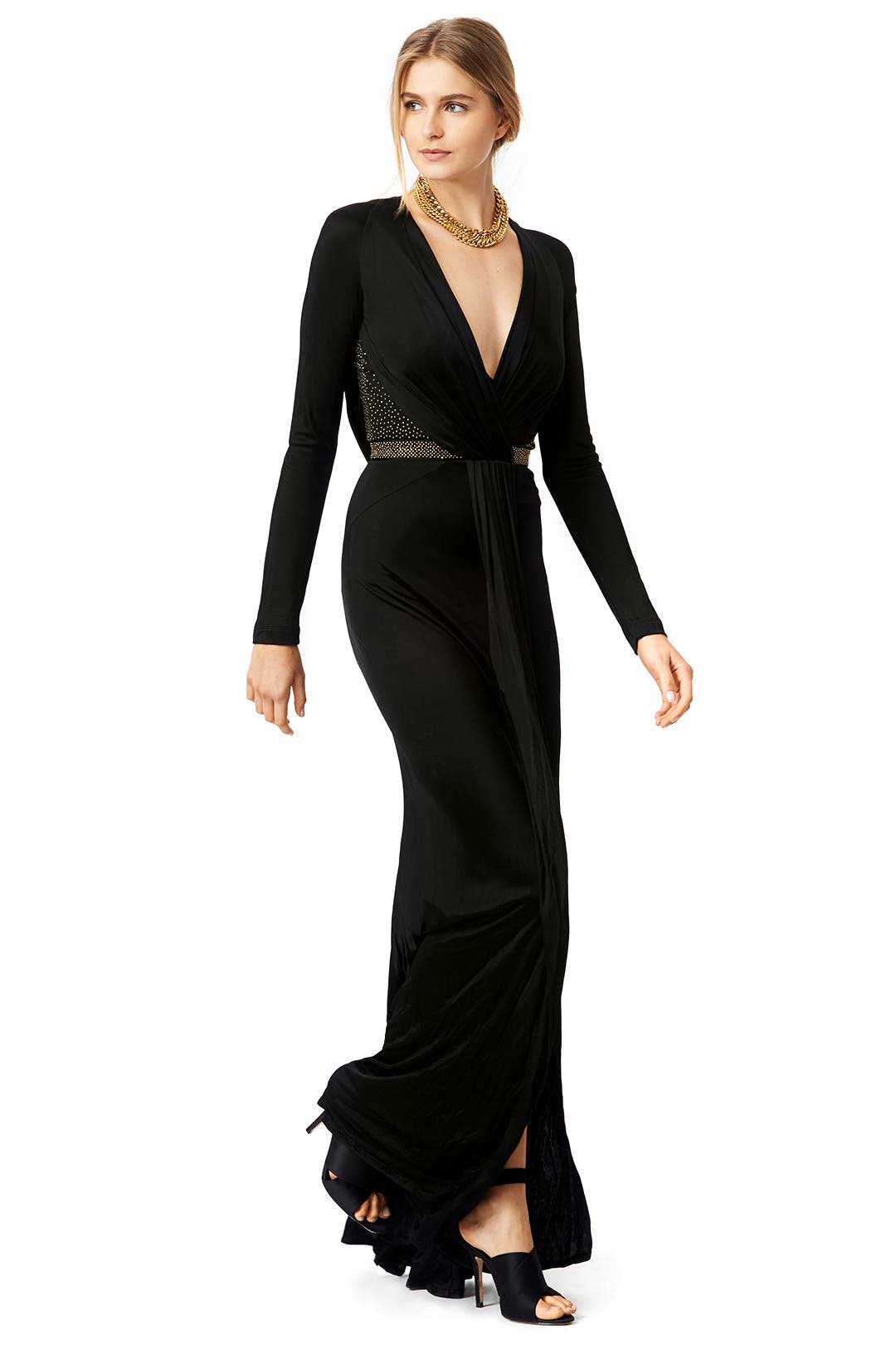 Versace Gown For Sale Halle Gown by Versace
