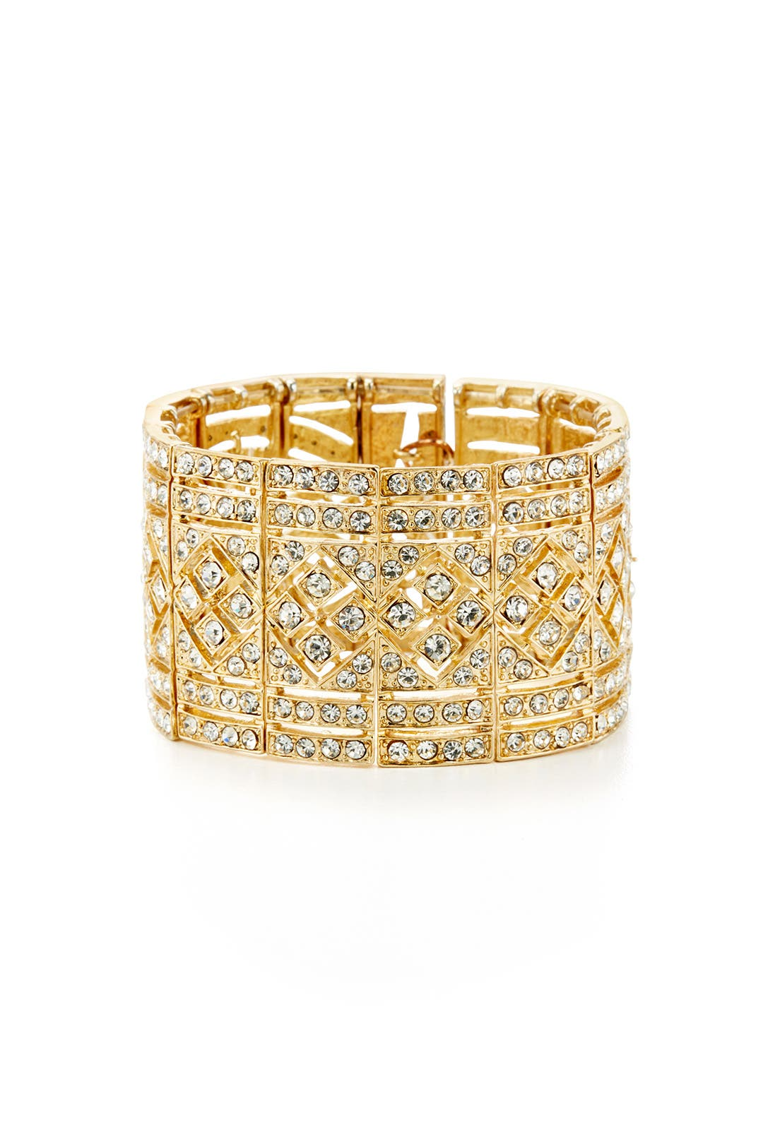 Gold Dress Me Up Bracelet by Cara Accessories