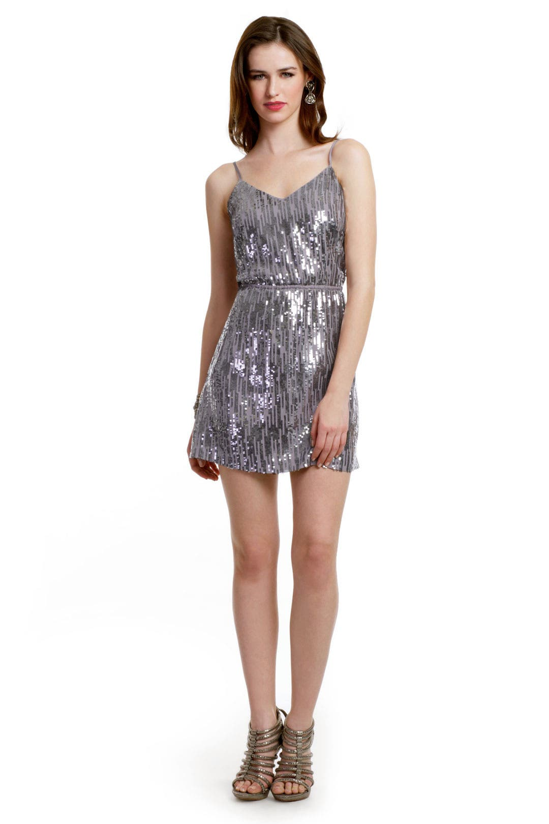 Metallic Rain Dress by Twelfth Street by Cynthia Vincent