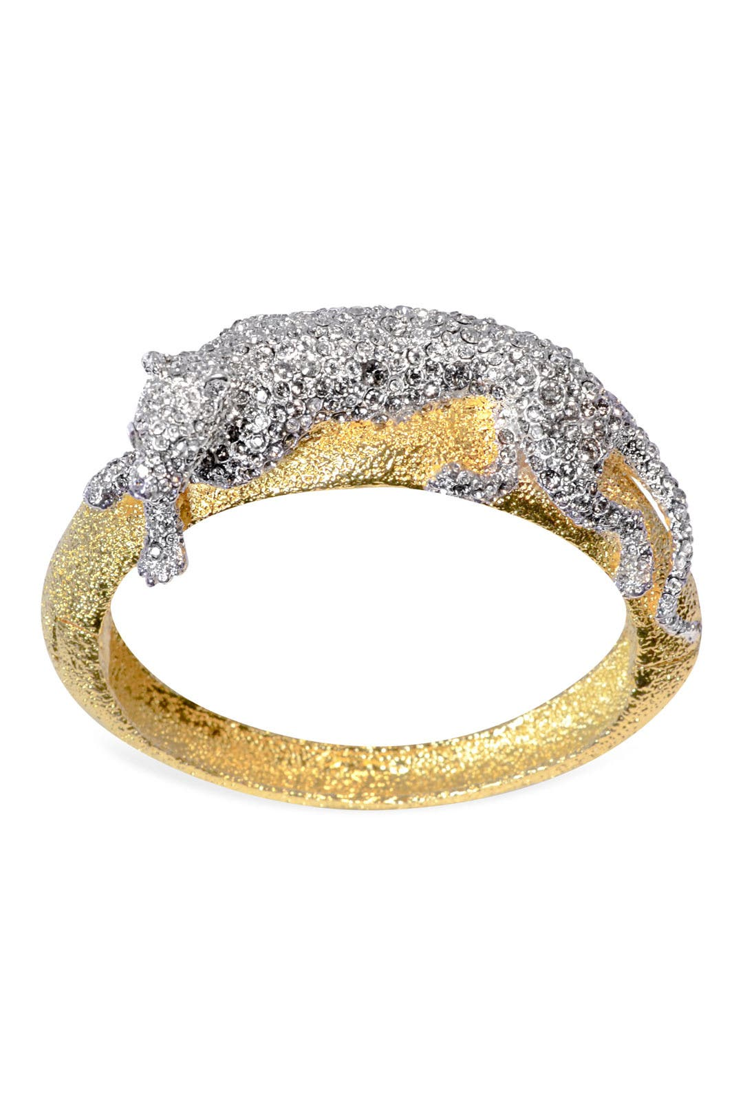 Perching Panther Cuff by Alexis Bittar