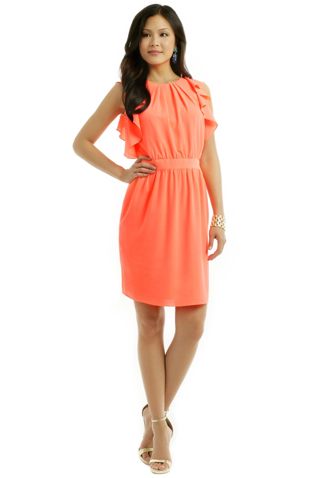 Katrina Blouson Dress by Shoshanna