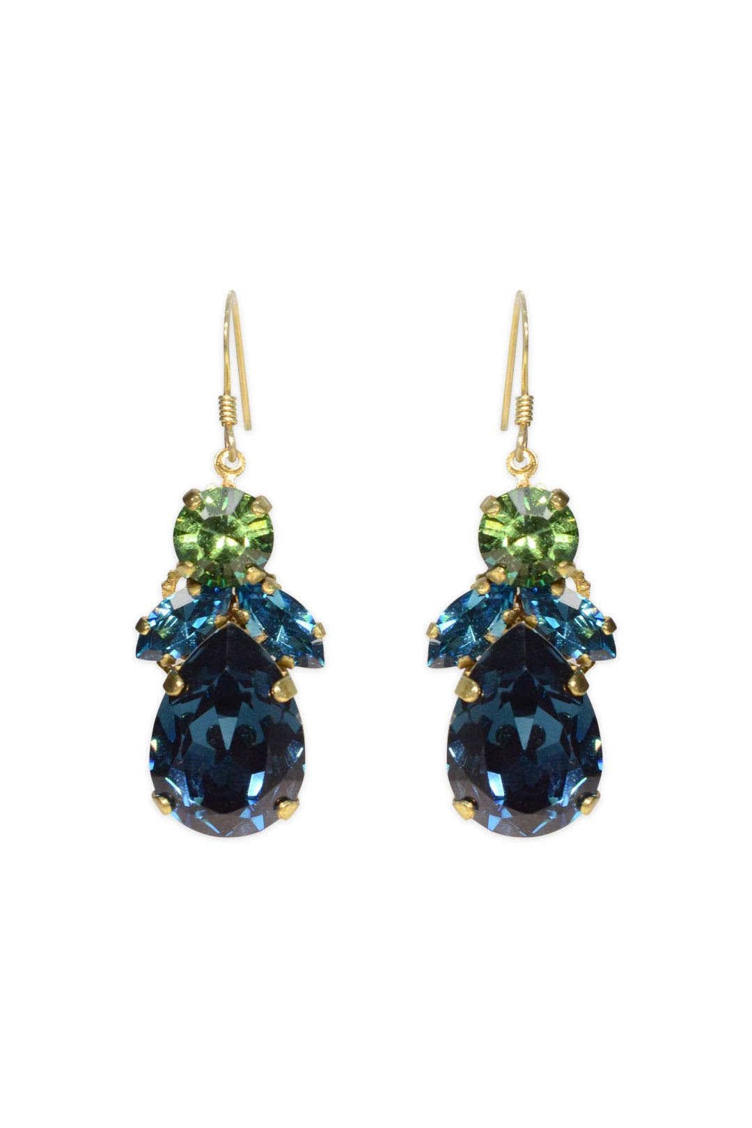 Budding Blue Cluster Earring by Anton Heunis