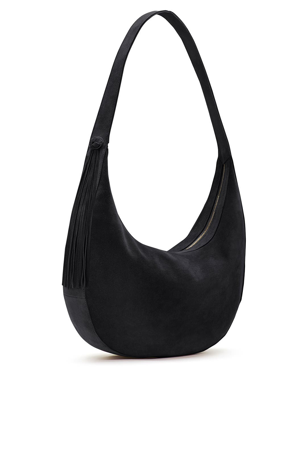 05350bd981 Black Suede Zoe Hobo by Elizabeth and James Accessories for  111 ...