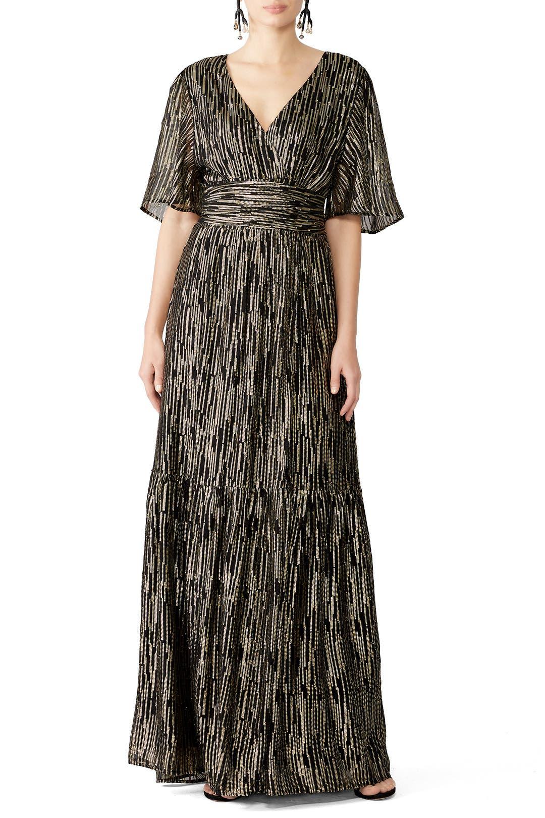 Gown Runway By Nixon The Ba Metallic amp;sh For95110Rent PNwkXZ8n0O