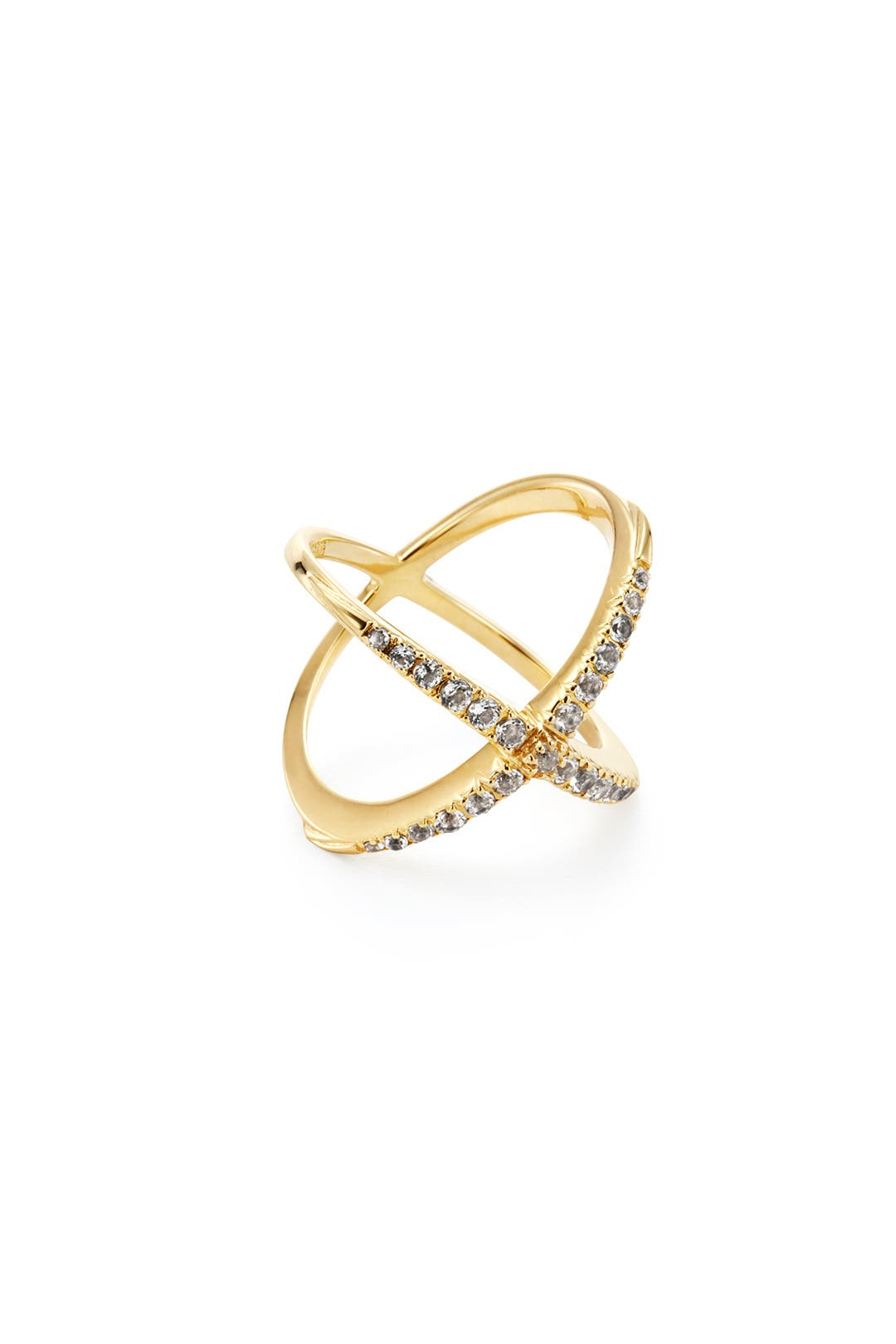 Windrose Pave Ring by Elizabeth and James Accessories
