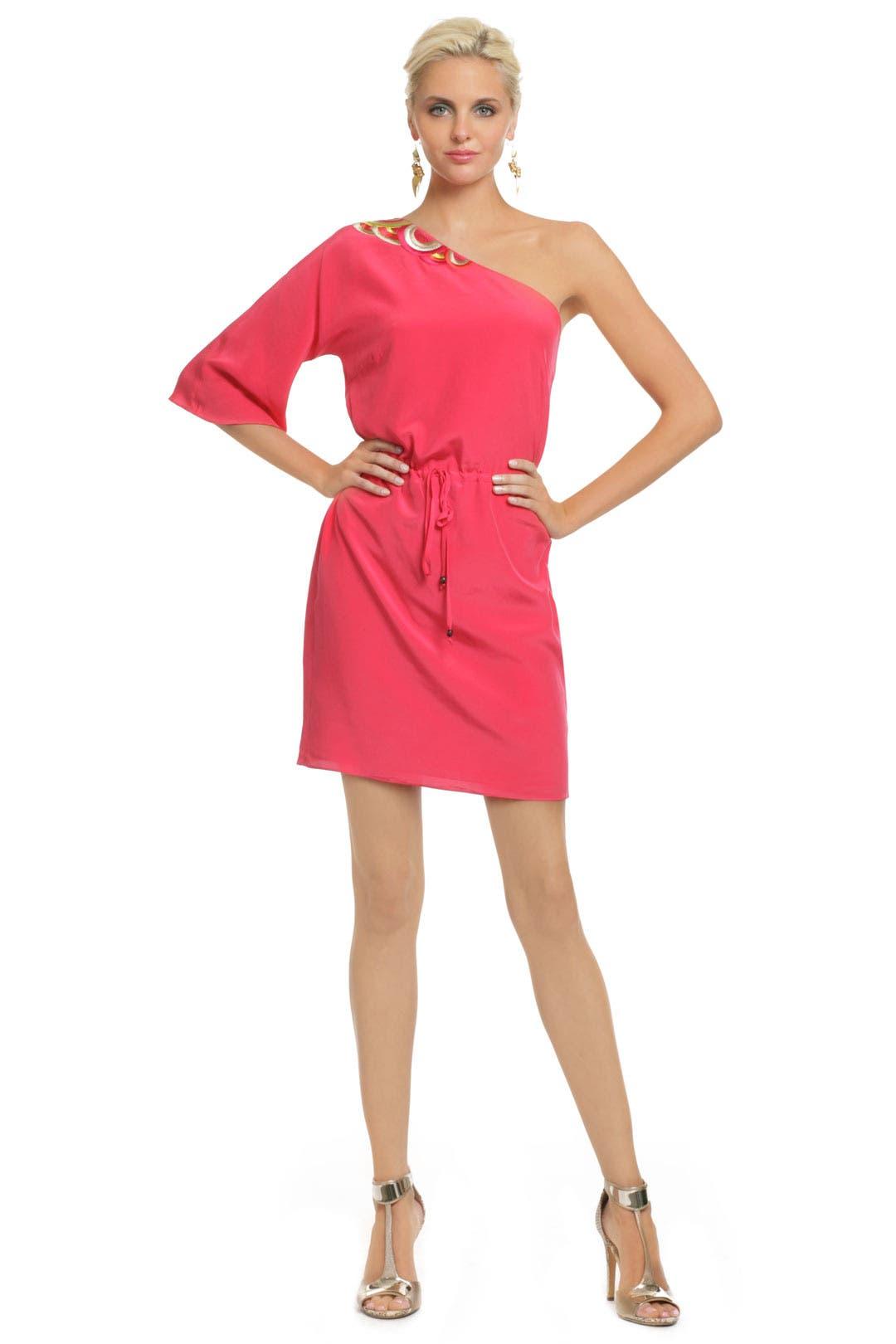 Coral Santa Cruz Sun Dress by Trina Turk