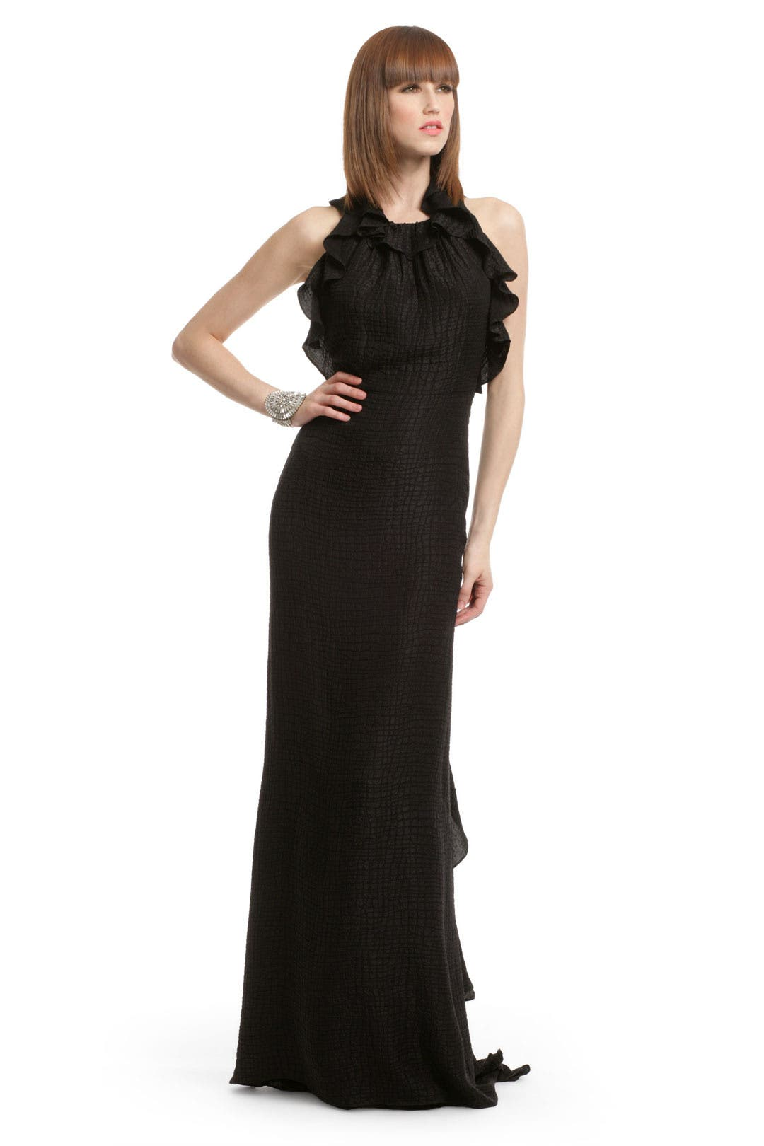 Ravish Ruffle Gown by Milly