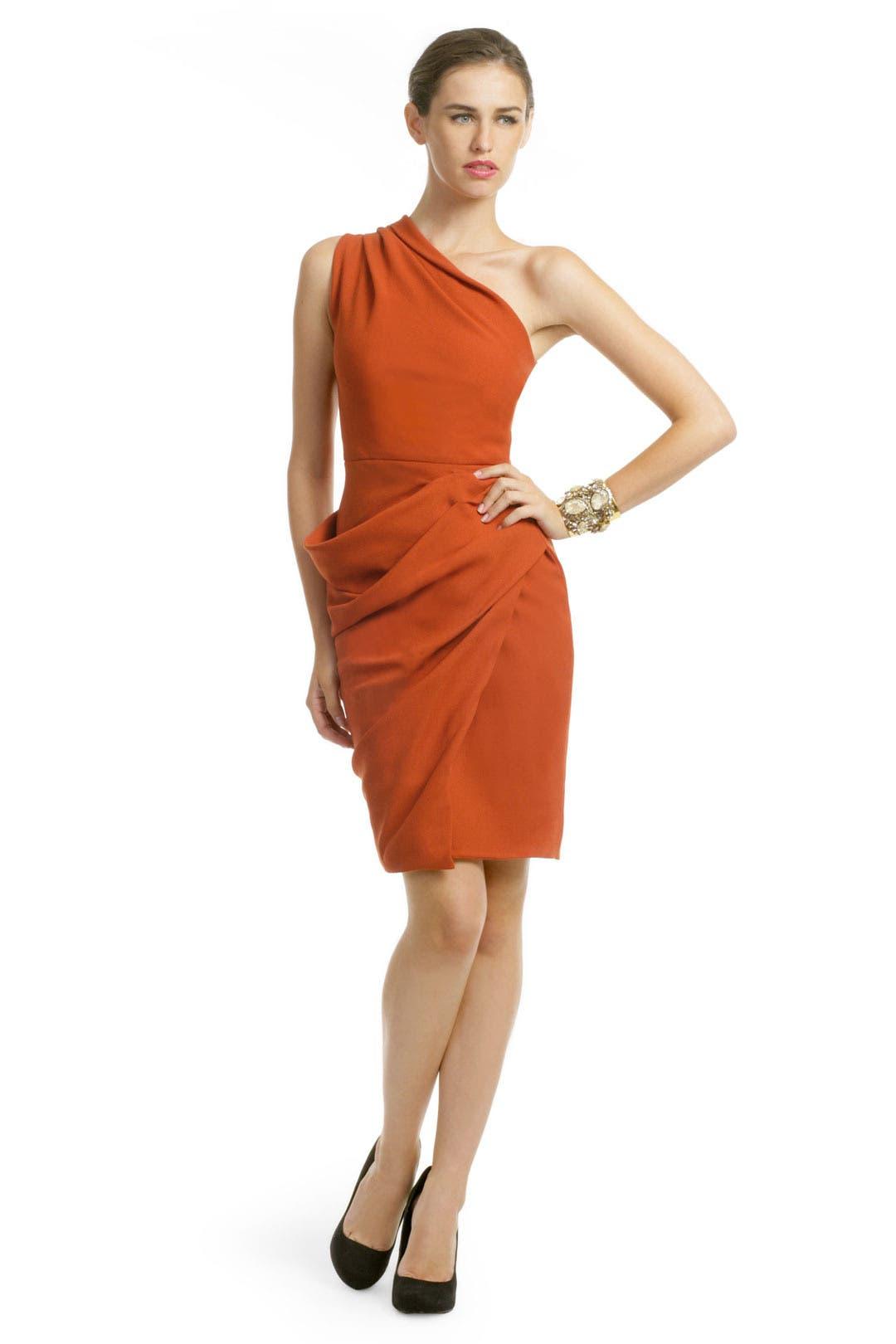 Rusted Orange Dress by Roksanda Ilincic
