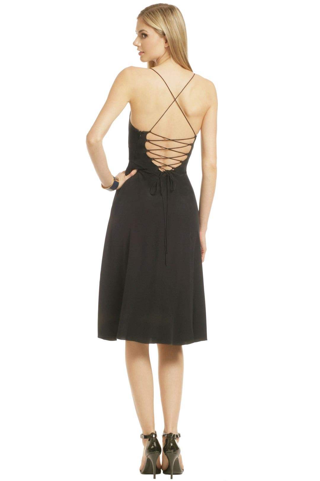 Waist Cincher Dress by Tibi