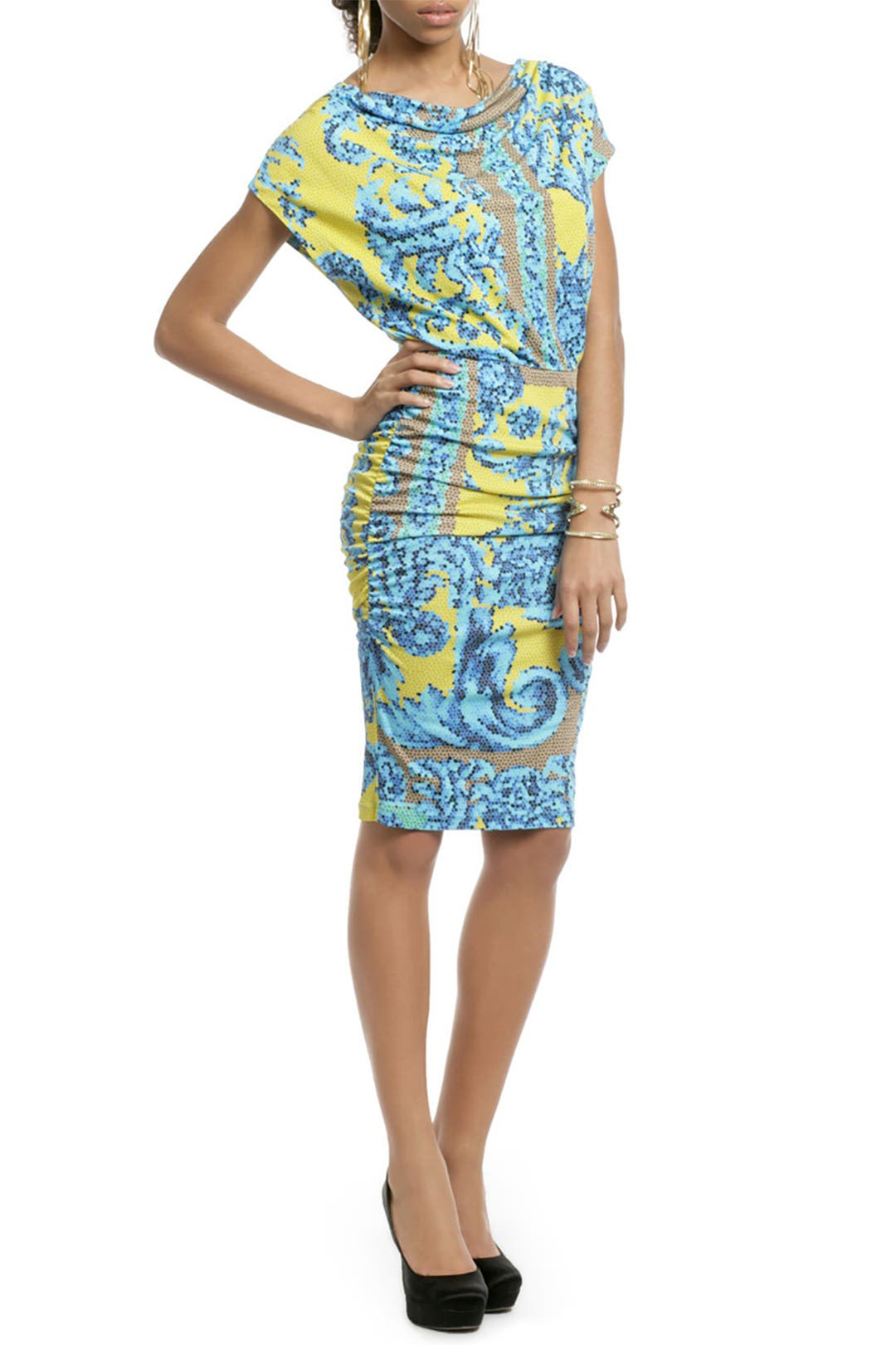 Mosaic Sundial Dress by Versace Collection