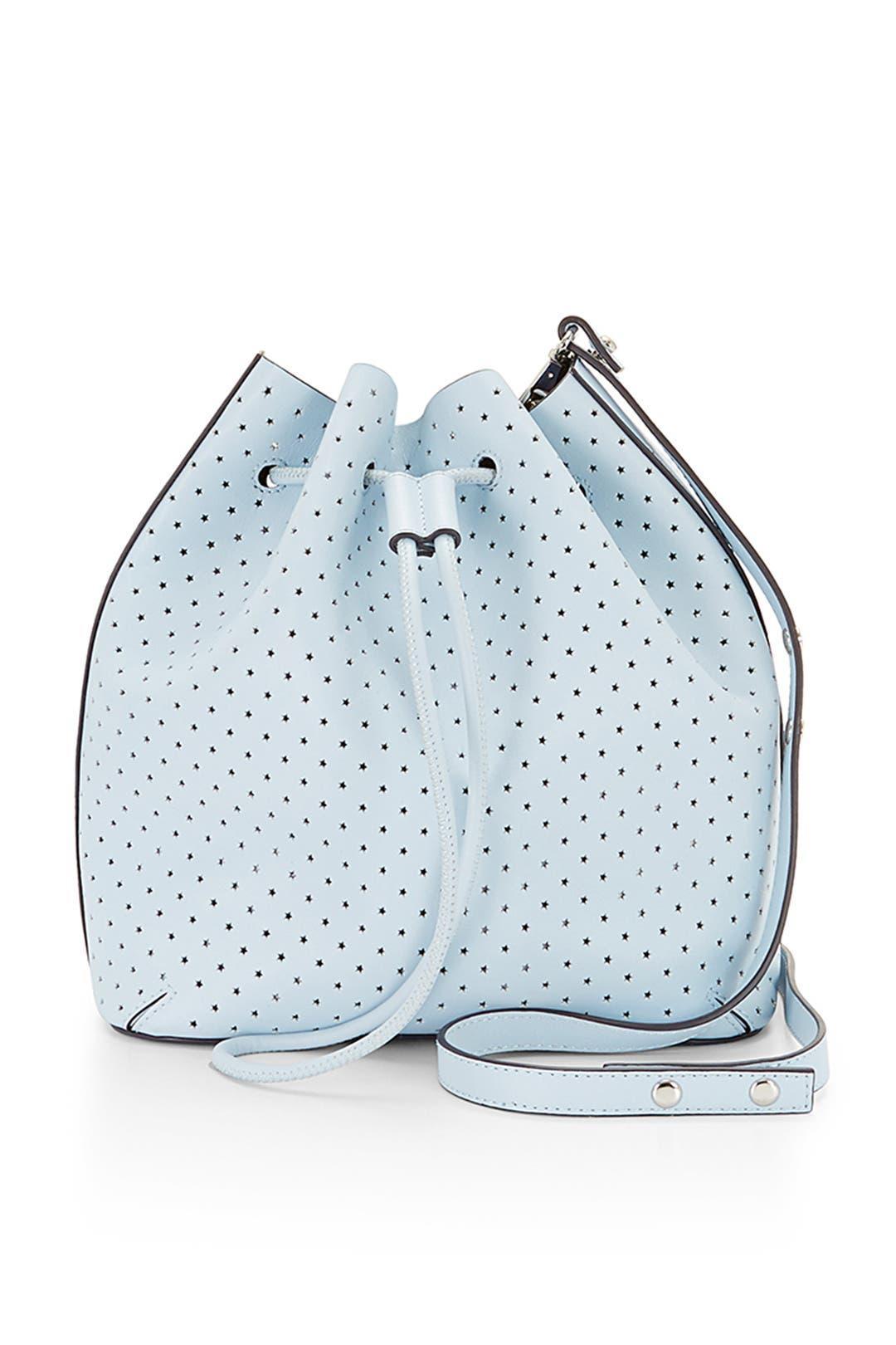 Ice Blue Bucket Bag by Rebecca Minkoff Handbags
