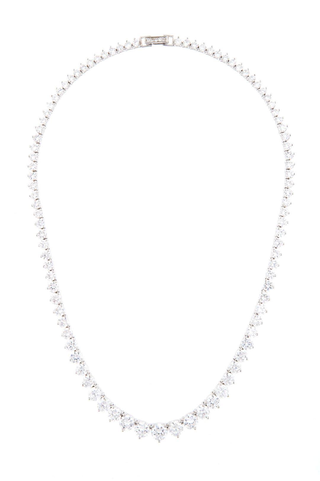 Graduated Crystal Necklace by Crislu