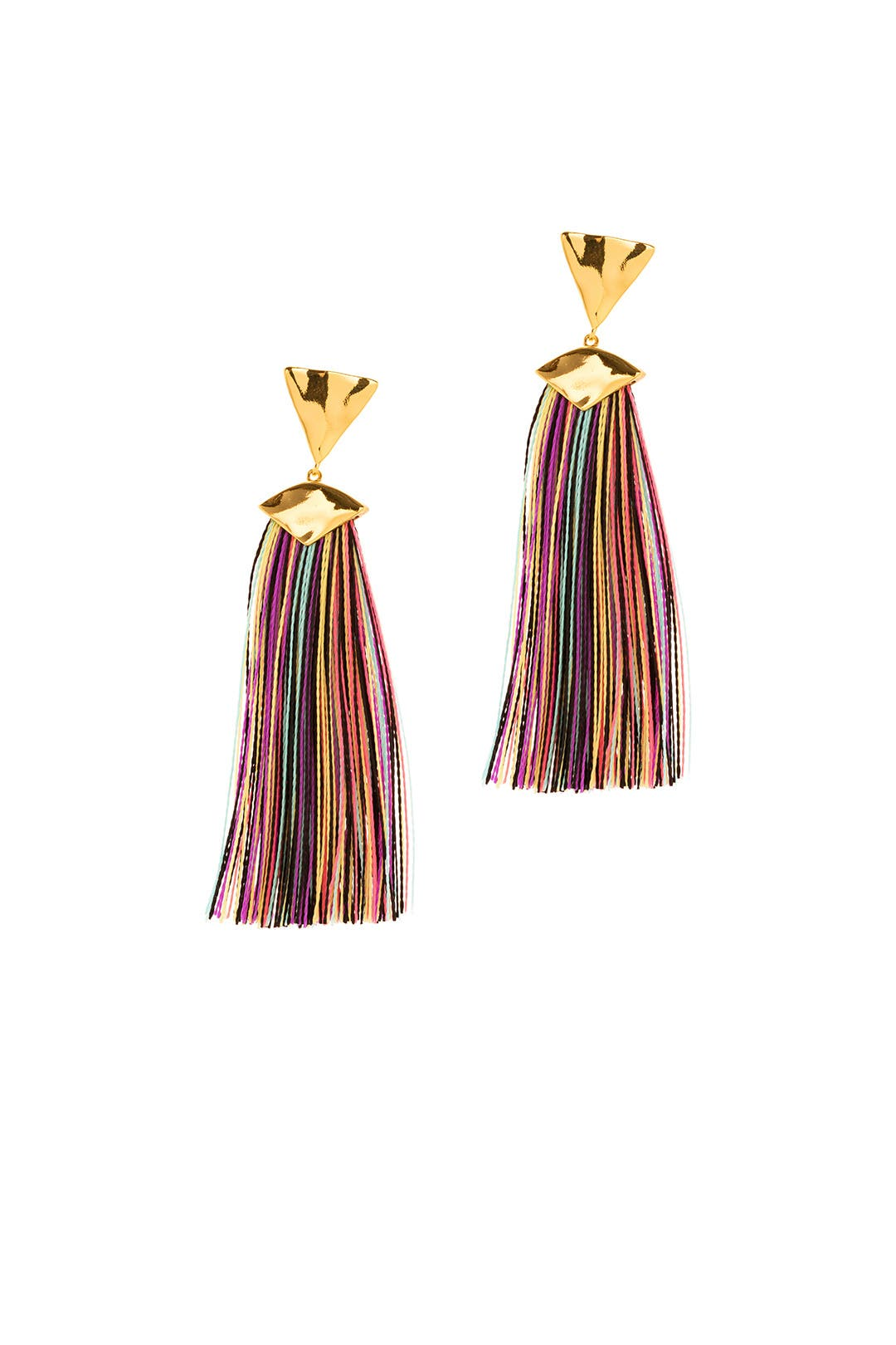 Gorjana Havana Triangle Tassel Earrings Gl0Dme