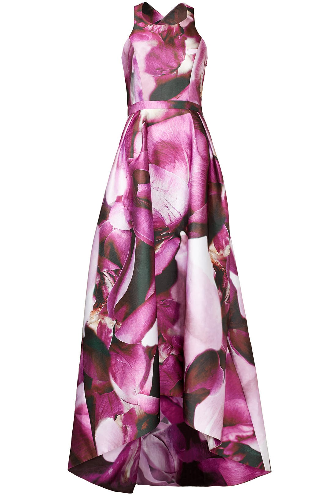Fuchsia Gown by ML Monique Lhuillier for $80 - $100 | Rent the Runway