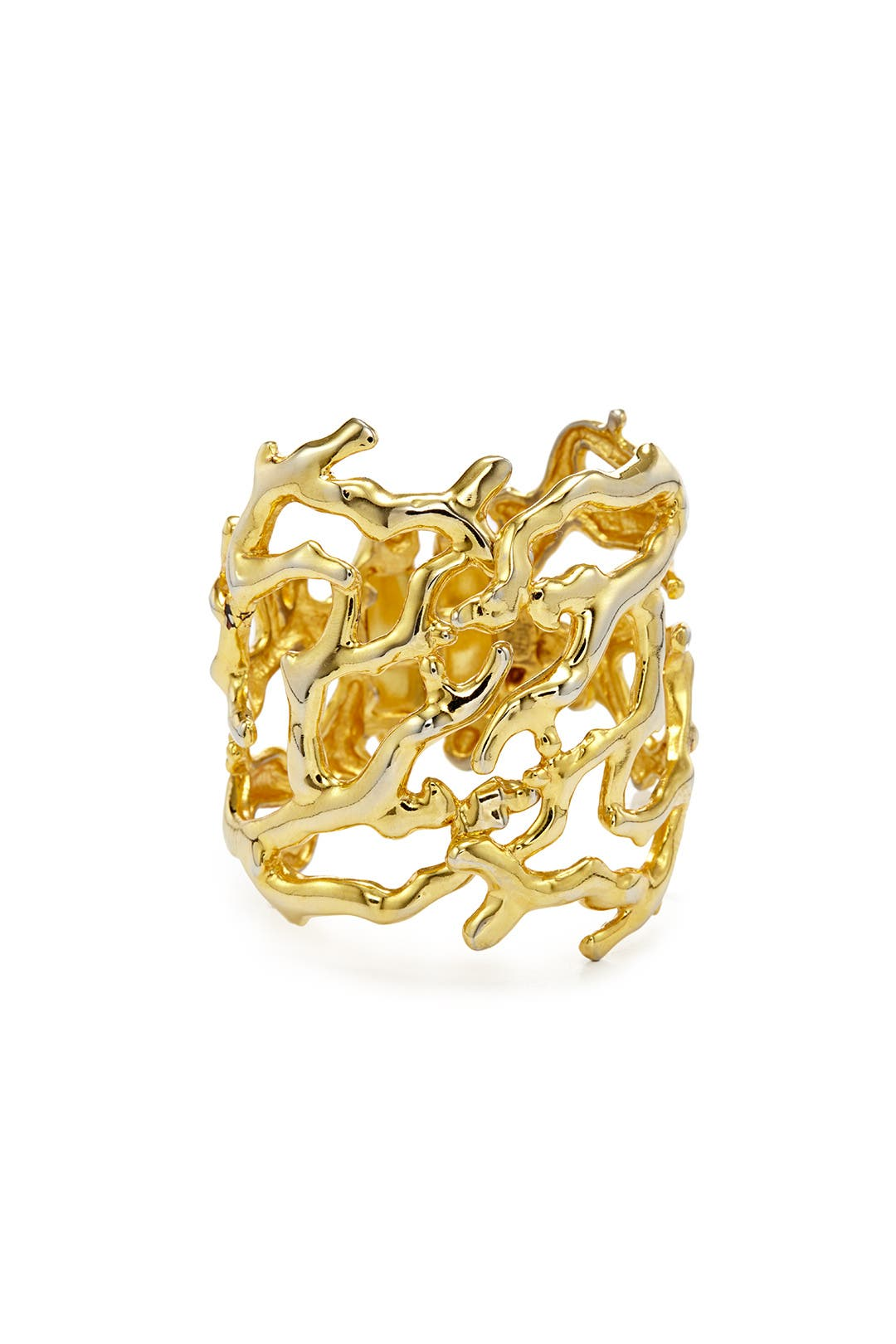 Sculpted Branch Cuff by Kenneth Jay Lane