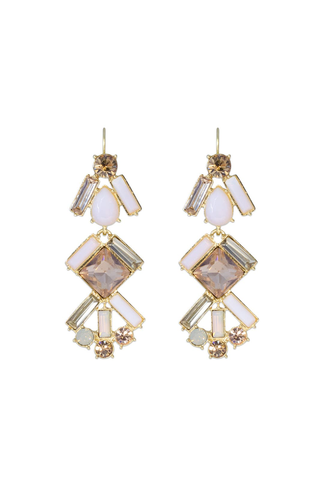 Baguette Bridal Chandelier Earrings by kate spade new york ...