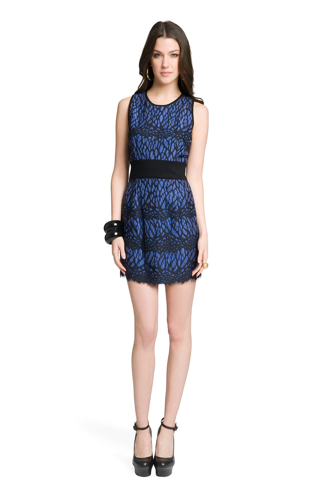 Lace Tank Mini by Robert Rodriguez Collection
