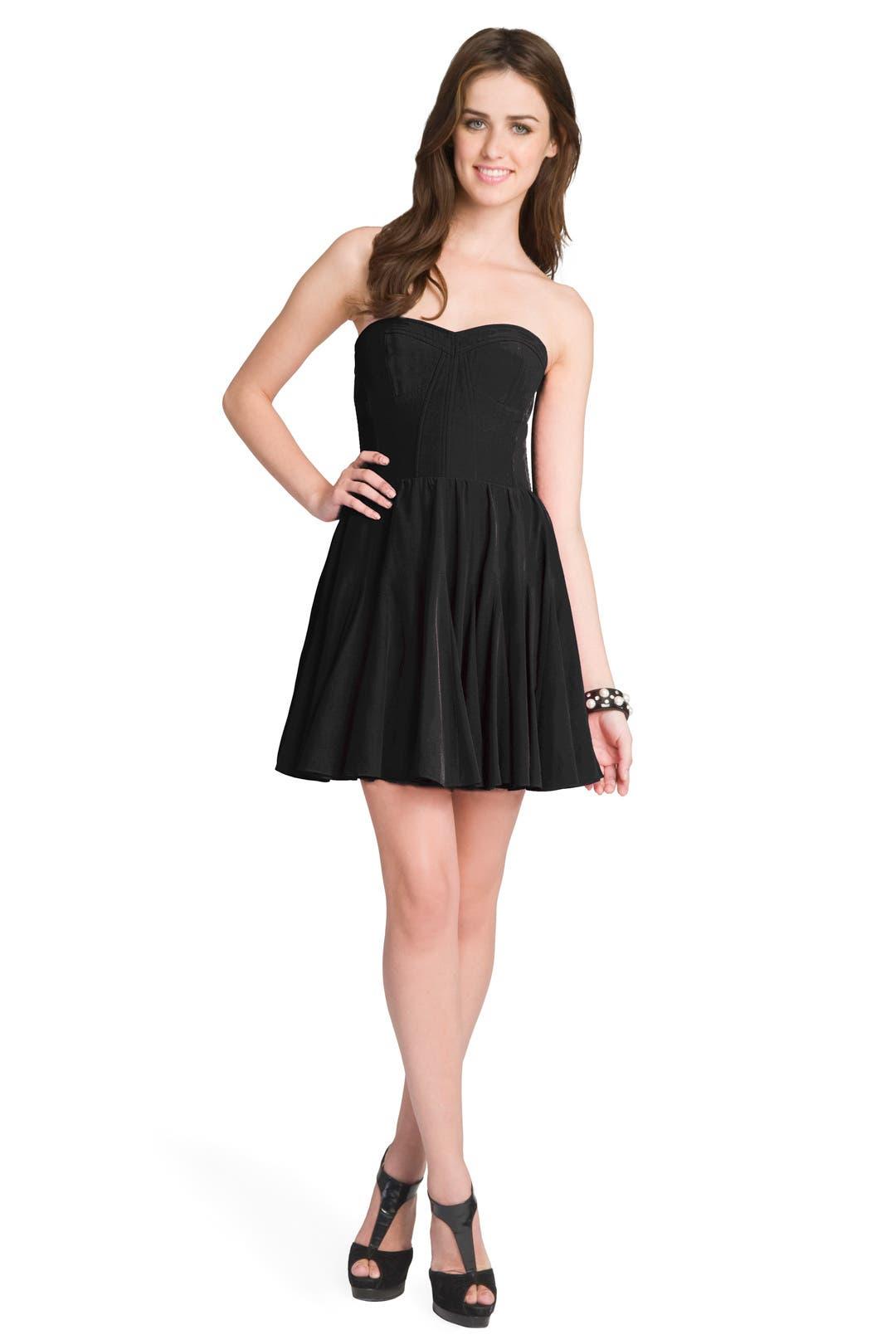 Noir Dancer Bodice Dress by Rebecca Taylor