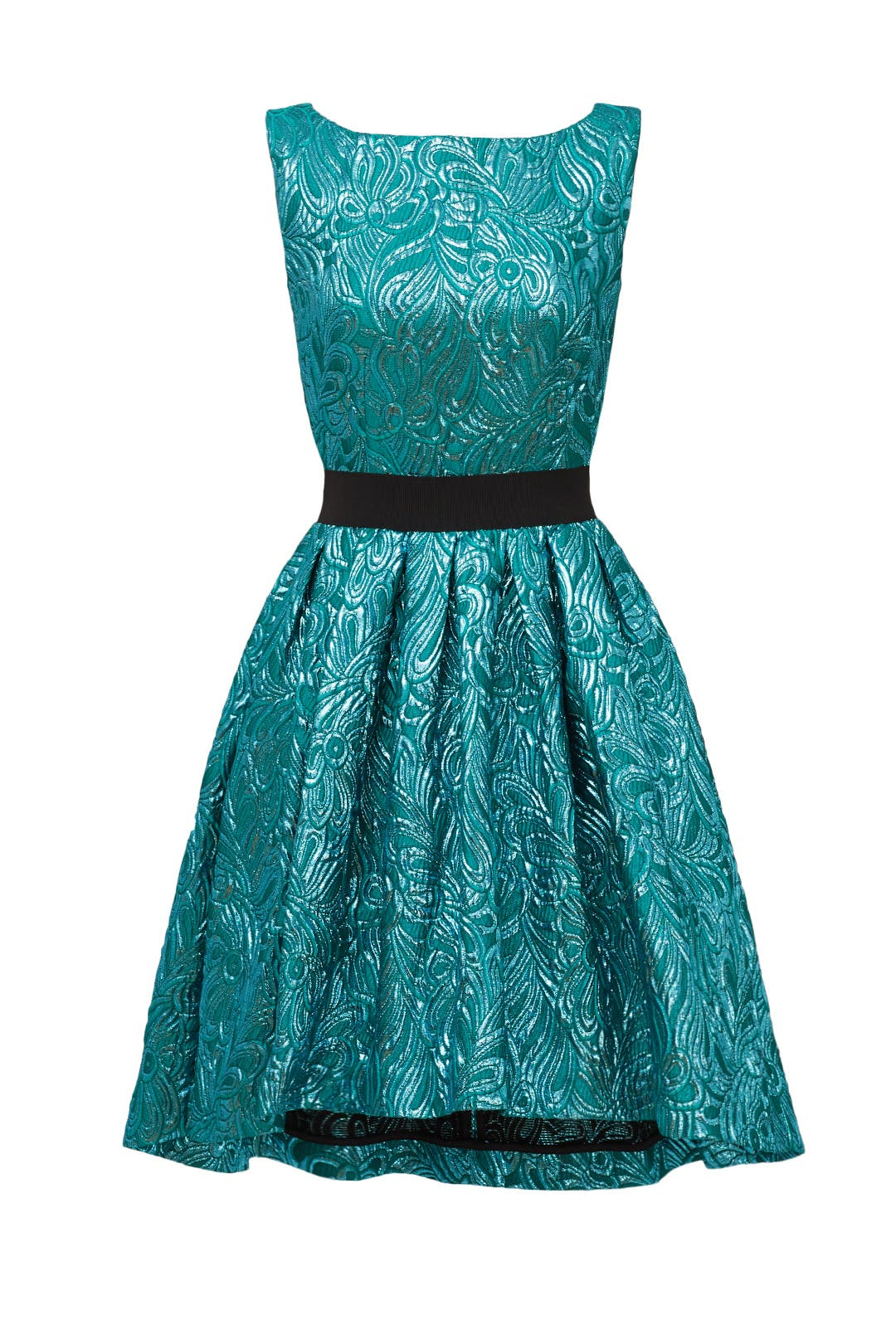Shimmering Teal Dress by Christian Pellizzari for $80 - $100 | Rent ...