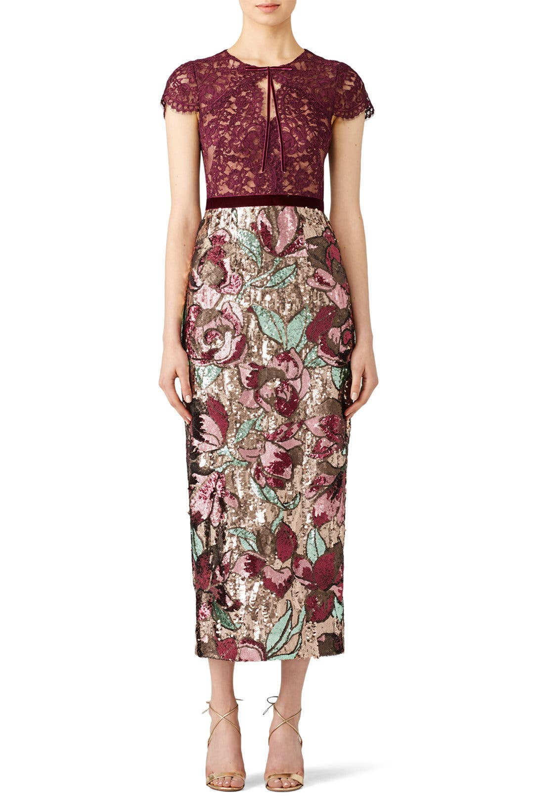 7462c75e9789f8 Artwork Sequin Dress by Marchesa Notte for  150 -  160