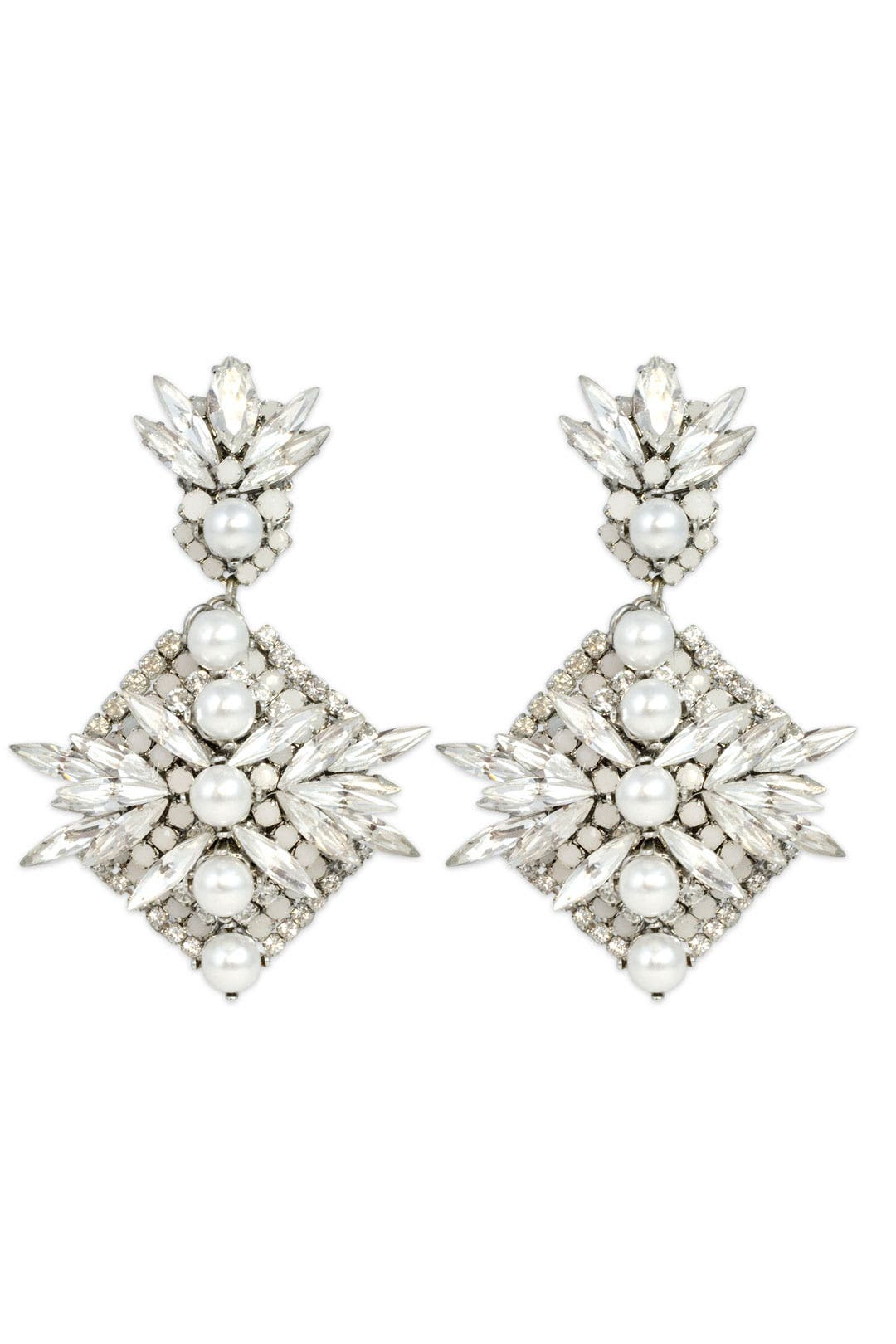 Clarity Earring by Erickson Beamon