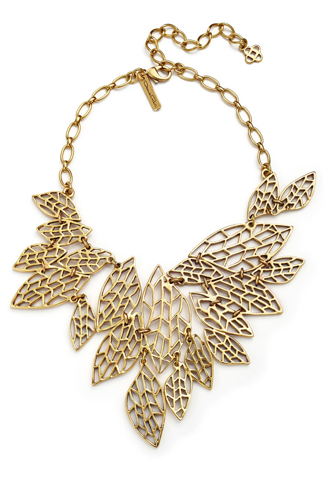 Leaves of Grass Necklace by Oscar de la Renta