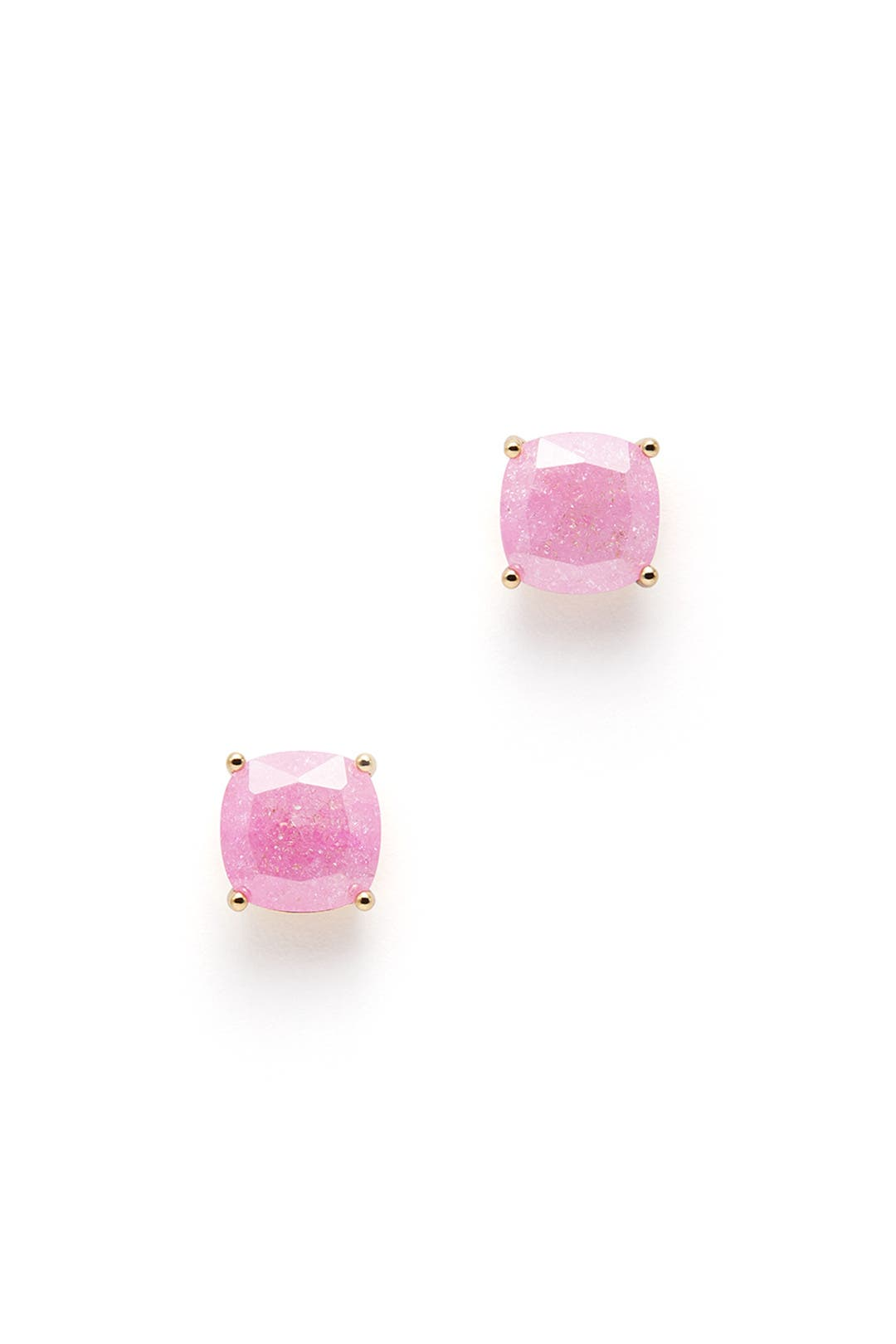Pink Square Stud Earrings by kate spade new york accessories