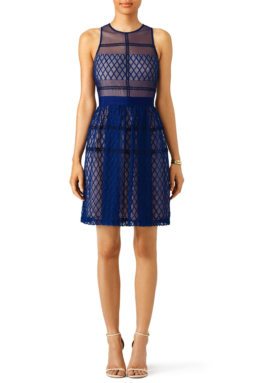 Blue Jordan Dress By Slate Amp Willow For 30 50 Rent