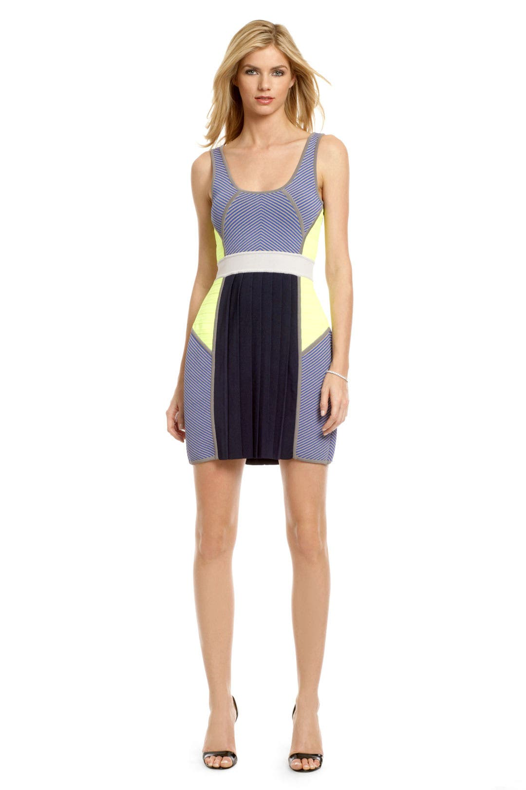 Wimbledon Pleat Dress by Cut 25