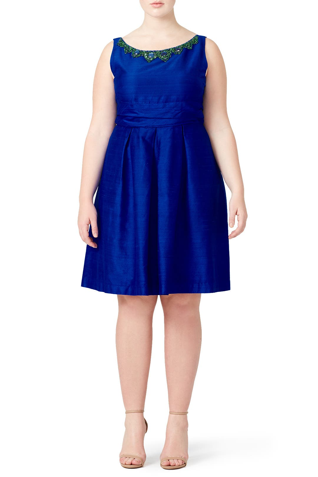 Out To Sea Dress By Kay Unger For 88 Rent The Runway