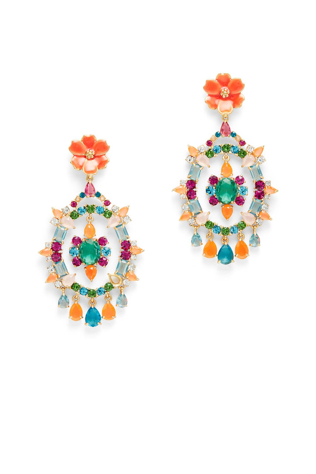 garden party statement earrings by kate spade new york accessories
