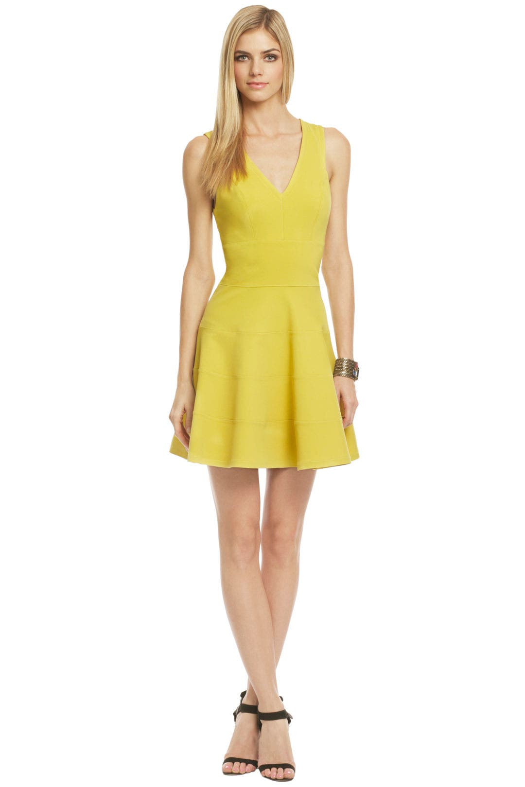 Sour Lemonade Dress by Robert Rodriguez Collection