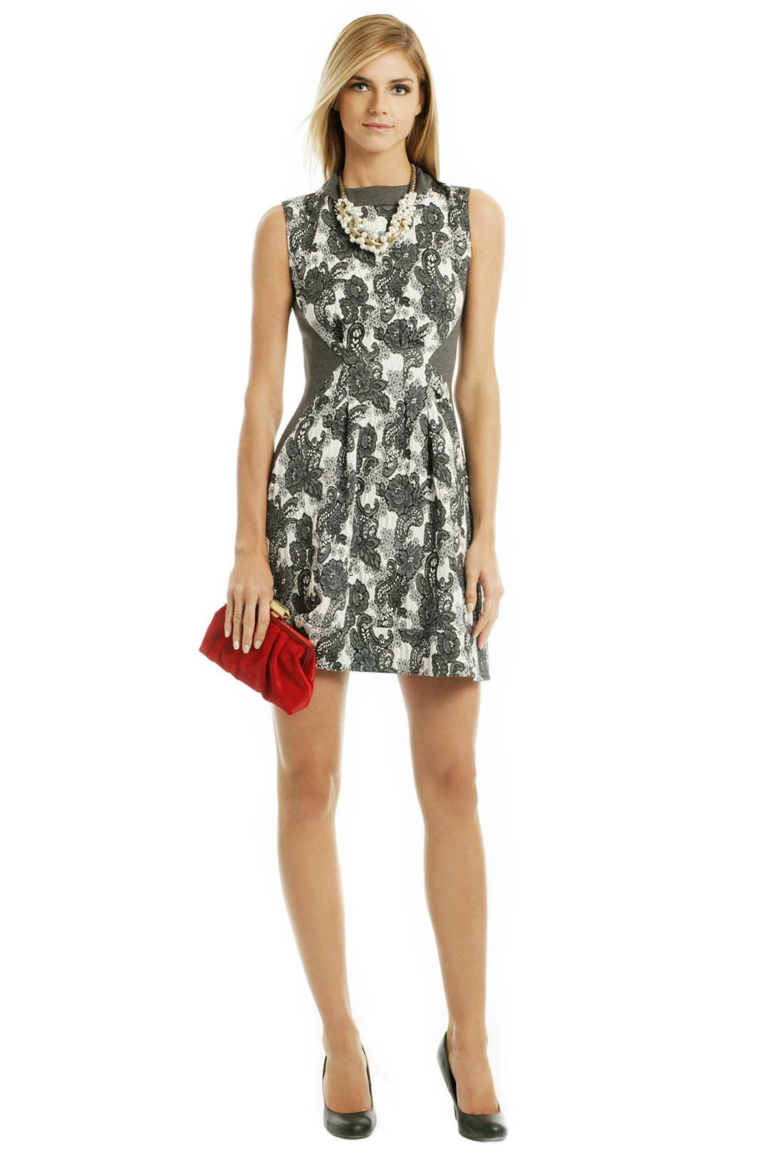 Plaza Paisley Dress by Thakoon