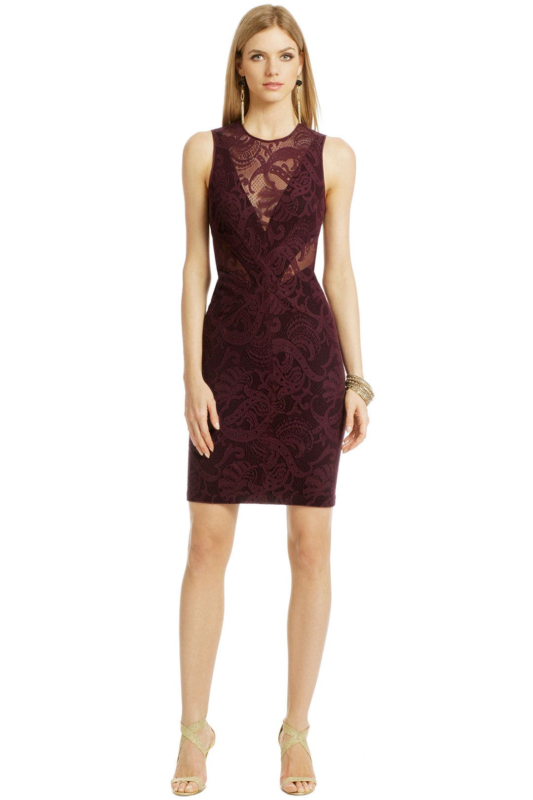 Sip Of Wine Dress By Yigal Azrou 235 L For 169 Rent The Runway