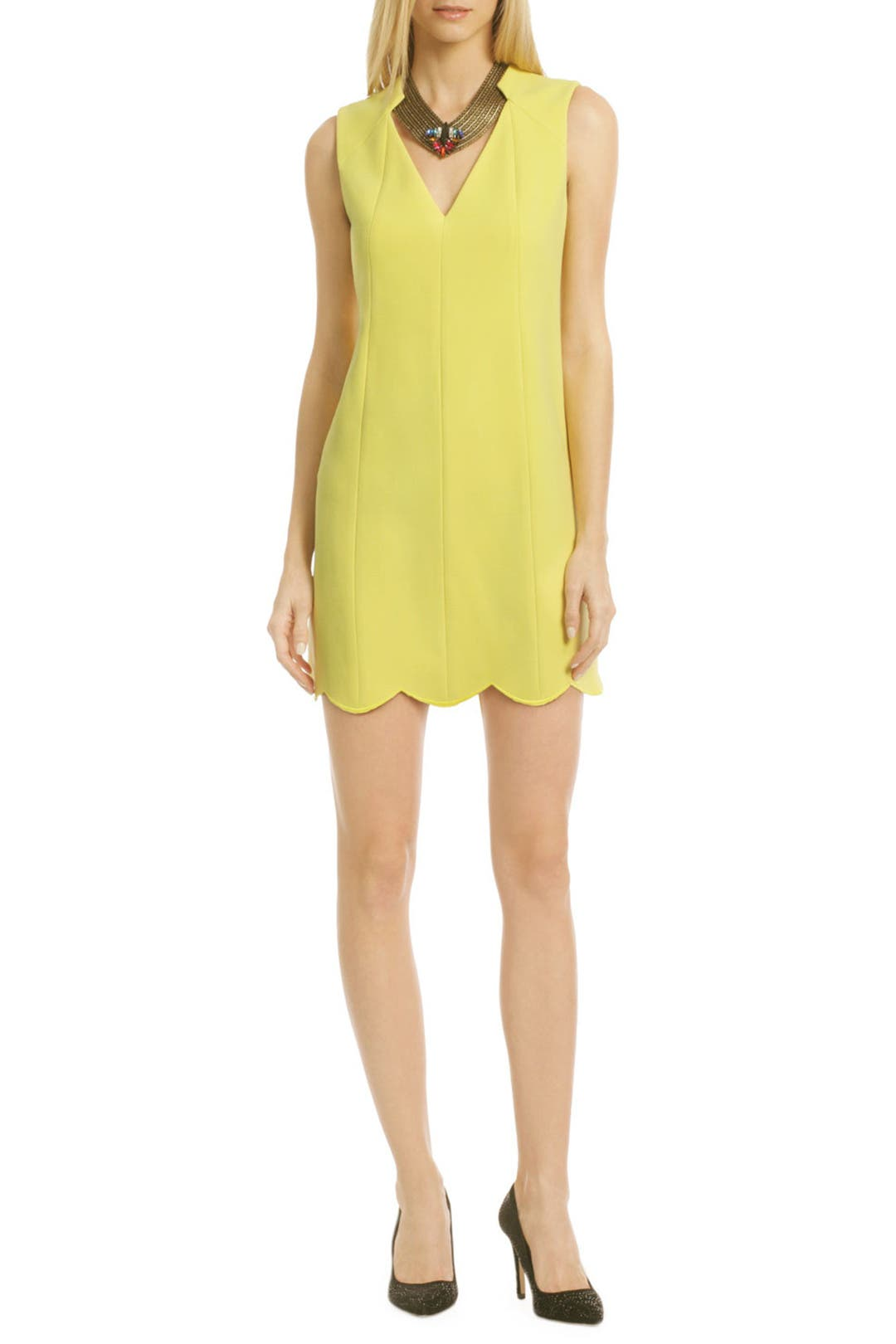 Lemon Pie Sheath by Rachel Roy