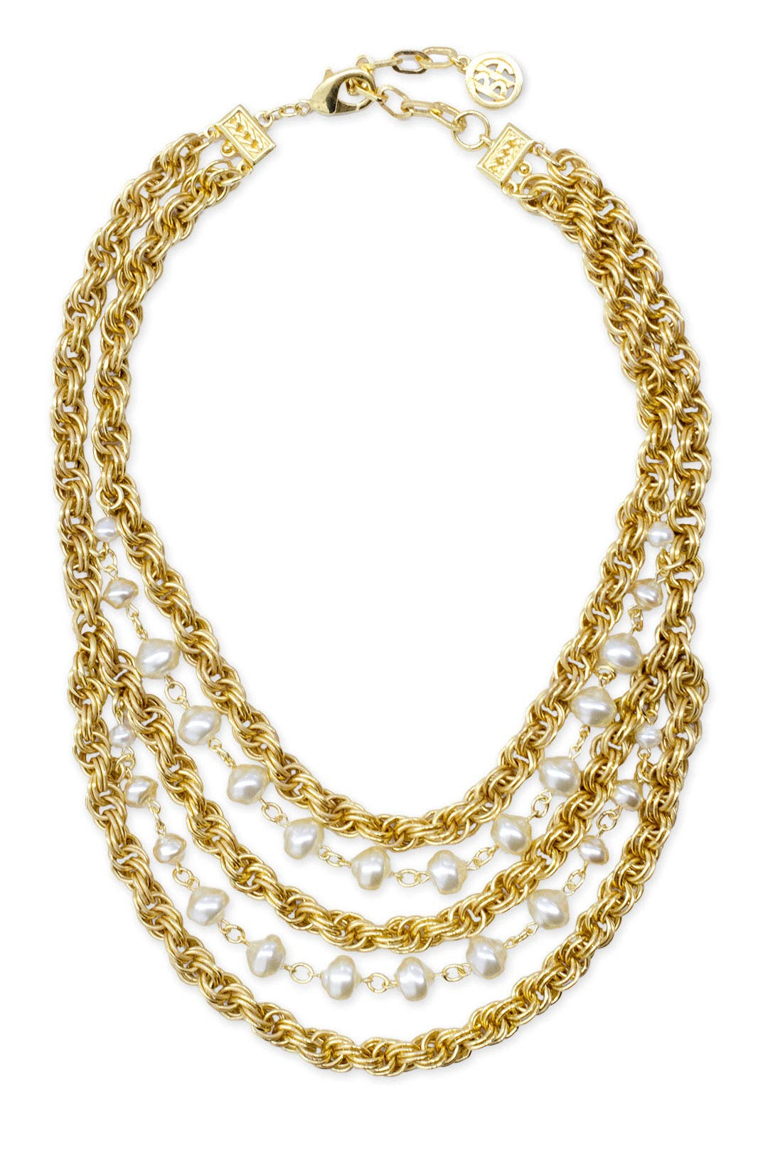 Castile Statement Necklace by Ben-Amun