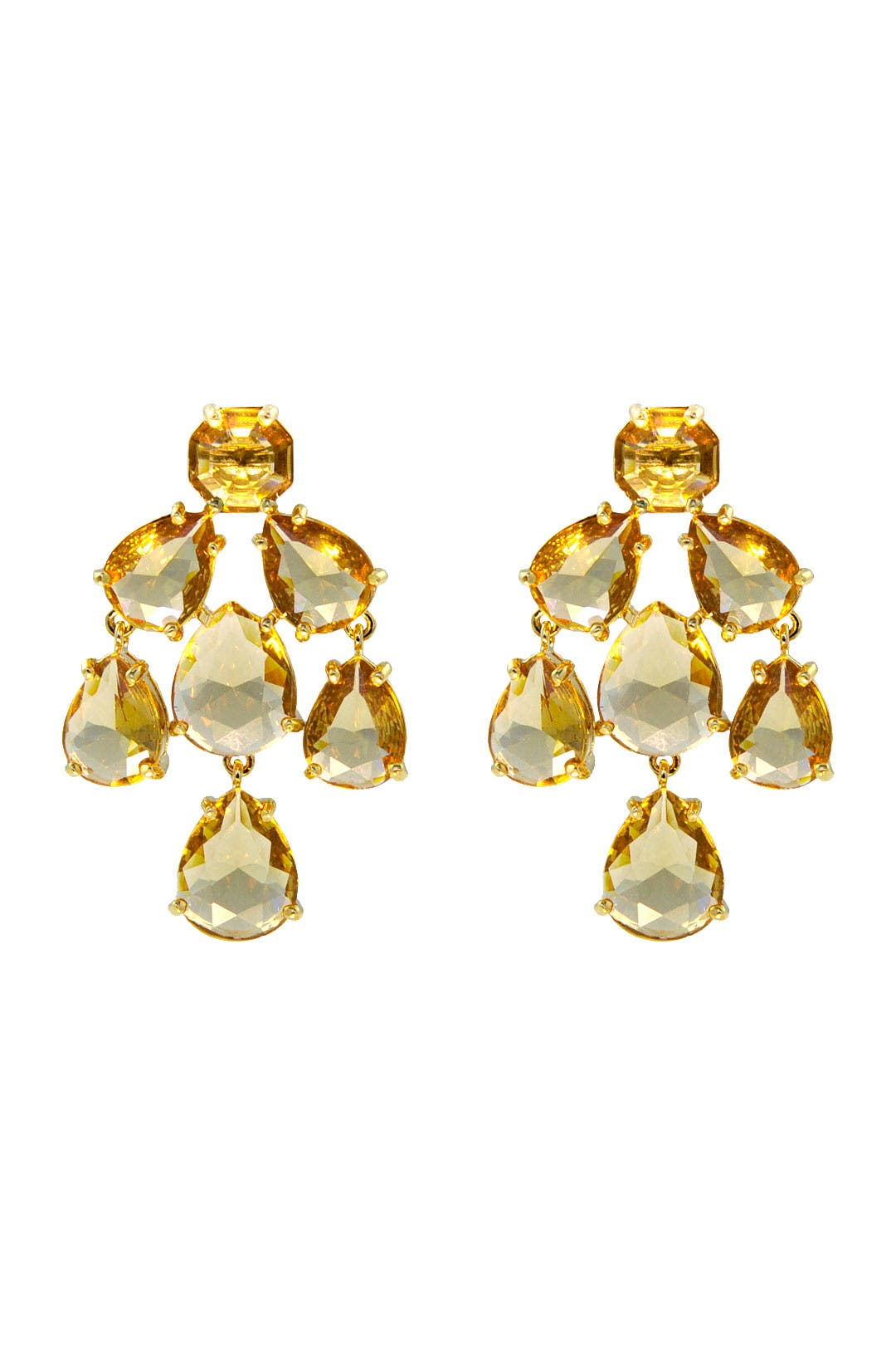 Champagne Kate Chandelier Earrings by kate spade new york ...