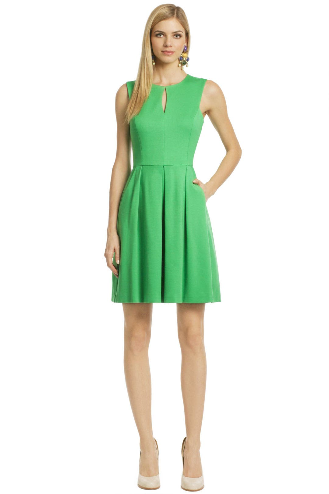 Kelly To My Green Dress by Trina Turk
