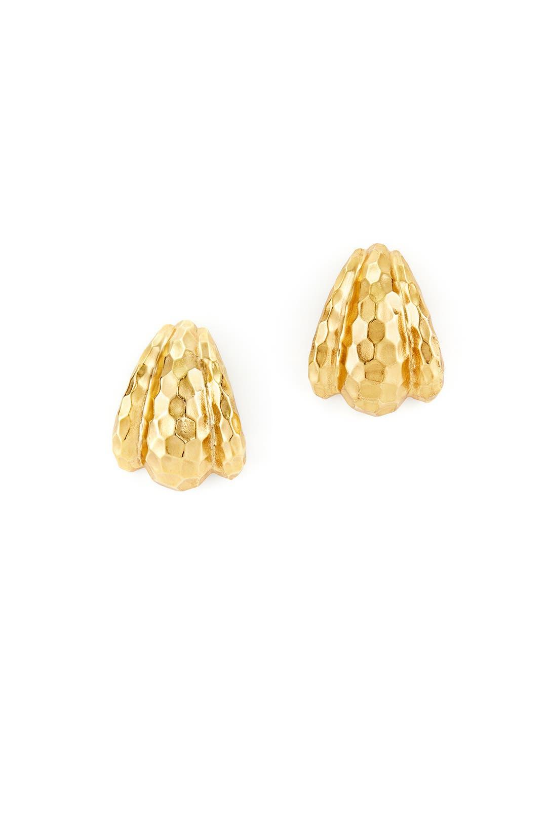 Honeycomb Stud Earrings by Ben-Amun
