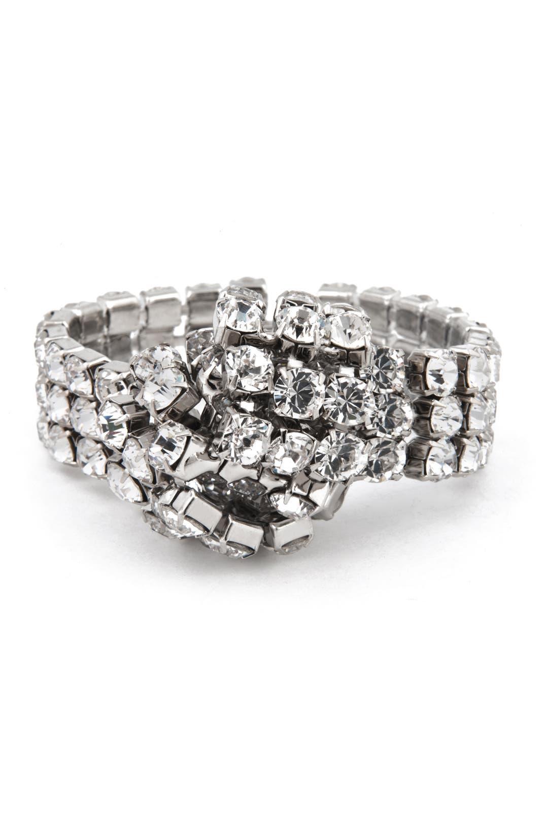 Crystal Knot Bracelet by Janis Savitt