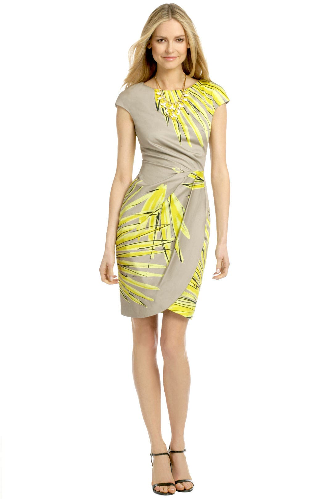 Costa Rica Palm Dress by Lela Rose