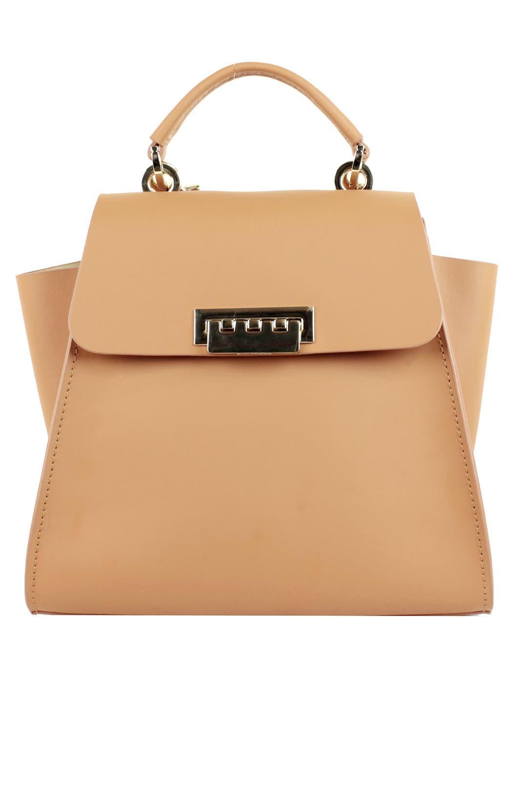 Apricot Eartha Iconic Convertible Handbag By Zac Zac Posen