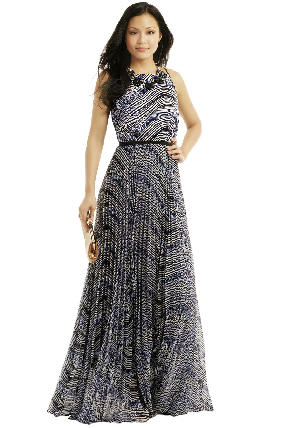 Crew Cutout Maxi Dress by Sachin & Babi for $100 - $115 | Rent the ...