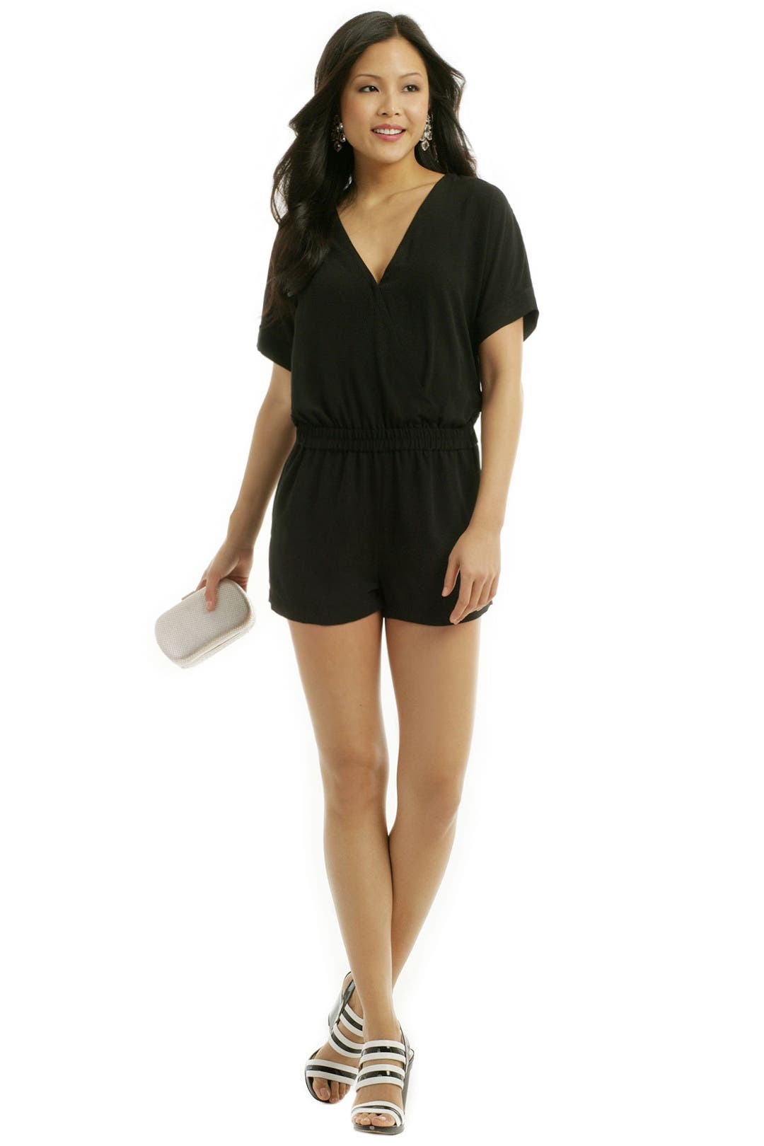 Black dress romper - Black Dress Romper 40