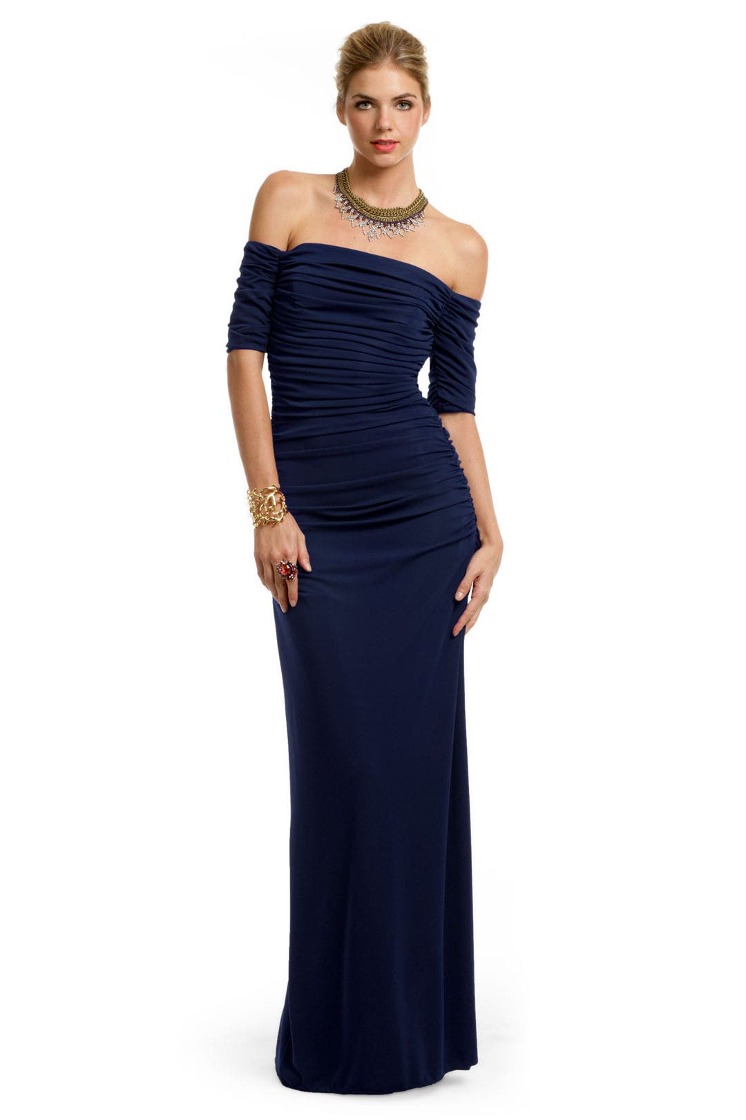 American Beauty Gown by Badgley Mischka