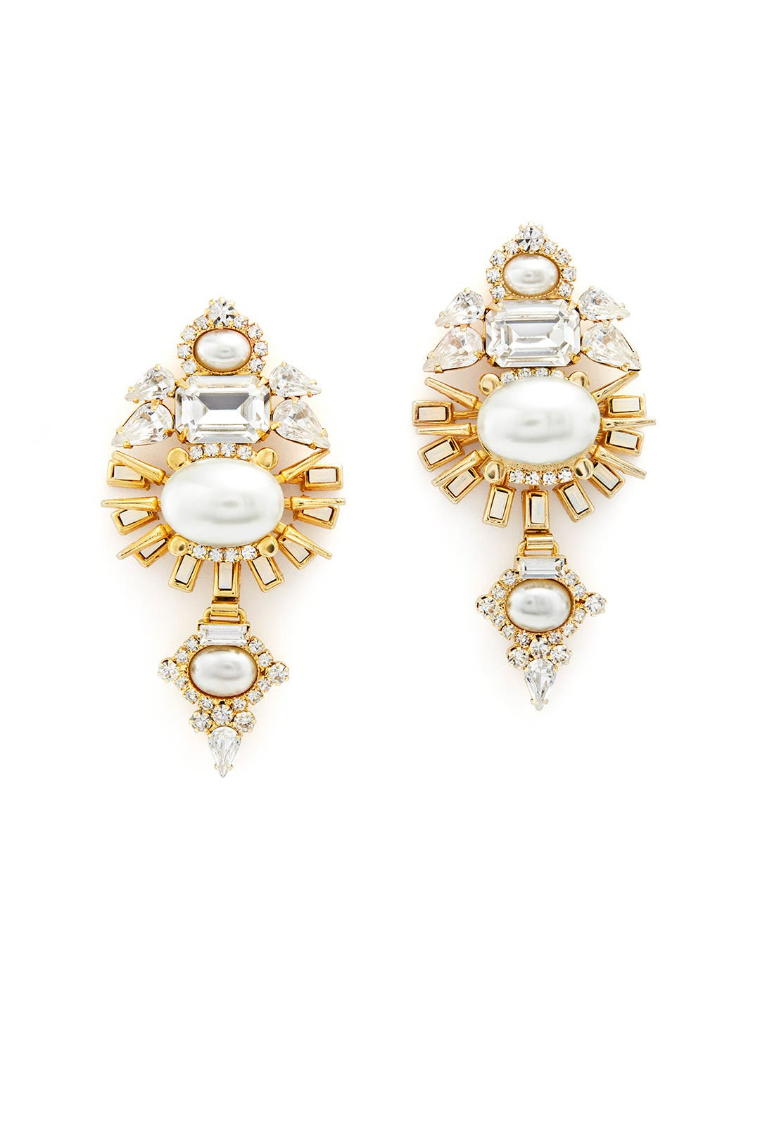 Henning Earrings by Elizabeth Cole
